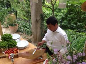 cortador de jamon boda